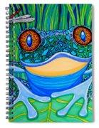 Bright Eyes 2 Spiral Notebook