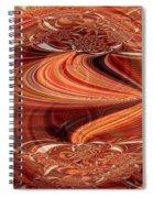 Bright Fantasies Of Delightful Orange Spiral Notebook