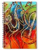 Bright Jazz Spiral Notebook