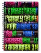Bright Leather Bracelets Spiral Notebook