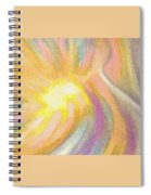 Bright Light Flight Spiral Notebook