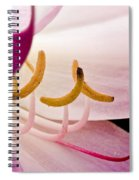 Bright Lily Spiral Notebook