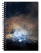 Bright Night Skies Spiral Notebook