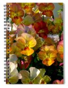 Bright Shining Faces Spiral Notebook