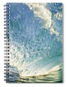Bright Wave - Makena Spiral Notebook