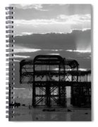 Brighton 3 Spiral Notebook