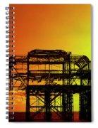 Brighton 4 Spiral Notebook