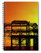 Brighton 4 Spiral Notebook