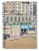 Brighton Seaside  Spiral Notebook