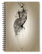 Brigitte Bardot Sketch Spiral Notebook