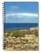 Brilliant 'bow Spiral Notebook
