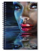 Brilliant Eyes Water Spiral Notebook
