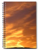 Brilliant Spring Sky Spiral Notebook