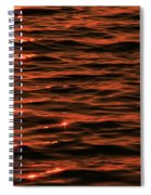 Brilliant Sunrise On The Lake Spiral Notebook