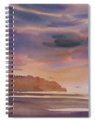 Brilliant Sunset Spiral Notebook