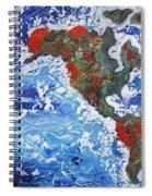 Brilliant World - Left Panel Spiral Notebook
