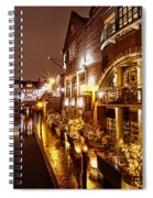 Brindleyplace At Night Spiral Notebook