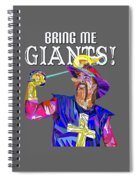 Bring Me Giants Tee Spiral Notebook