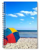 Bring The Umbrella With You Spiral Notebook