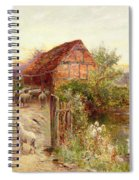 Bringing Home The Sheep Spiral Notebook