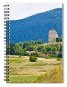 Brinje Village In Nature Of Lika Spiral Notebook