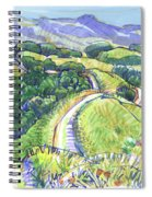 Briones Crest In May, Lafayette, Ca Spiral Notebook