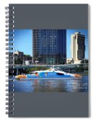 Brisbane City Cat. Spiral Notebook