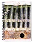 Bristol Bus Grill Spiral Notebook