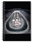 Bristol Motor Speedway Racing The Way It Ought To Be Spiral Notebook