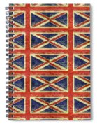 British Flag Collage One Spiral Notebook