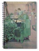 British Industries - Cotton Spiral Notebook