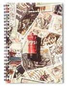 British Post Box Spiral Notebook