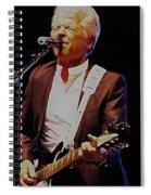 British Rock Star Spiral Notebook