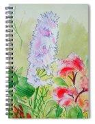 British Wild Flowers Spiral Notebook