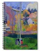 Brittany Landscape Spiral Notebook