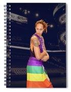 Brittney Griner Lgbt Pride 2 Spiral Notebook