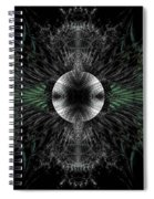 Broach Of Dried Leaves Spiral Notebook