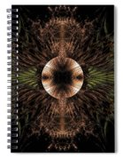 Broach Of Dried Leaves / Warm  Spiral Notebook