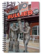 Broad Street Bullies Pub - Clarke And Parant Spiral Notebook
