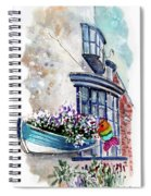 Broadies By The Sea In Staithes Spiral Notebook