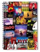 Broadway 14 Spiral Notebook