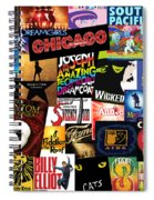 Broadway 3 Spiral Notebook