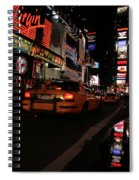 Broadway Lights Spiral Notebook