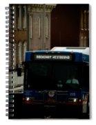 Broadway Westbound Spiral Notebook