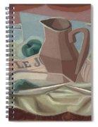 Broc Et Carafe Spiral Notebook