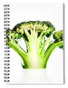 Broccoli Cutaway On White Spiral Notebook