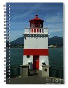 Brockton Point Light Spiral Notebook