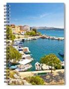 Brodarica Village On Adriatic Sea Spiral Notebook