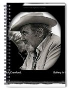 Broderick Crawford Ted Degrazias Gallery In The Sun Tucson Arizona 1969-2008 Spiral Notebook