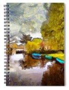 Broek In Waterland Spiral Notebook